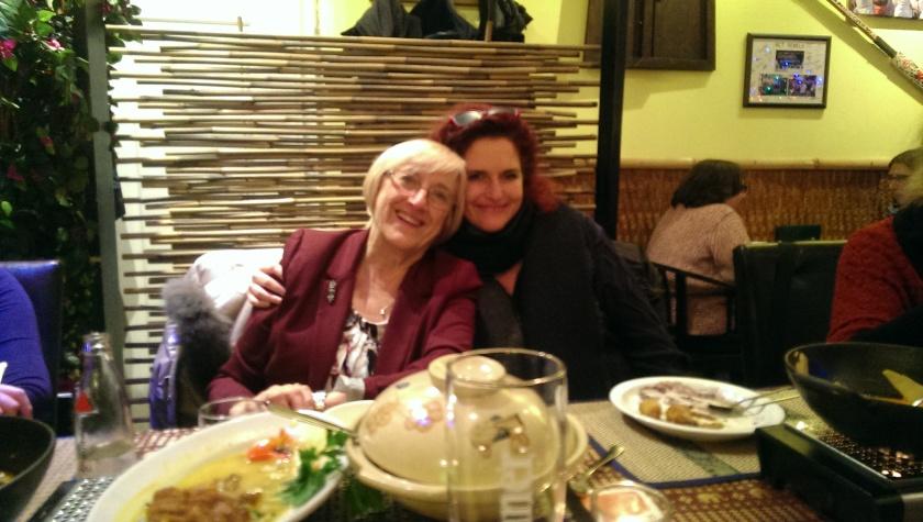 Carol Baggott Forte und Monika Kopp